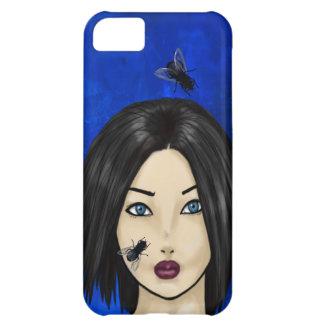 Blowflies och flickan (blåttbakterier) iPhone 5C fodral