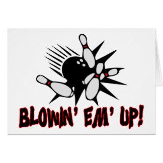 Blowin Em upp Hälsningskort
