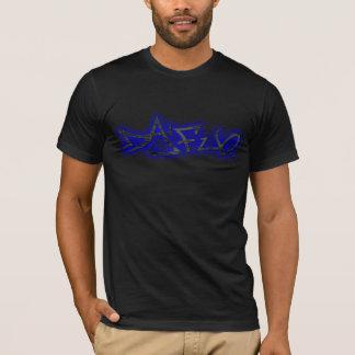 Blue. för Dafuq gataförfattare Tshirts