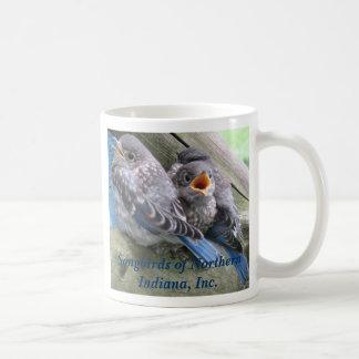 Bluebirds Kaffemugg