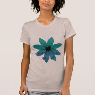 blueflower wow! Våren har fjädrat! Tshirts