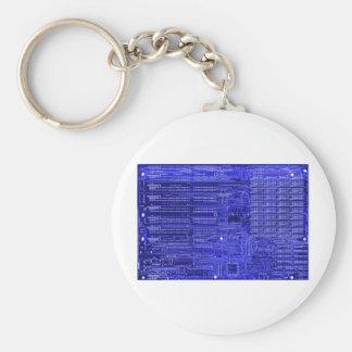 blueray - elektroniskt gå runt stiger ombord rund nyckelring