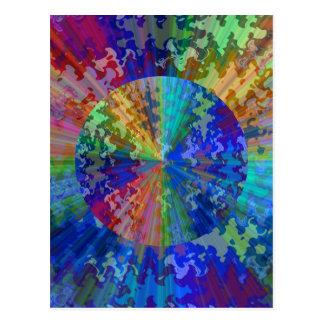 Blueray Spectrum: Cirkulärgnistrasäkerhetsbrytare Vykort