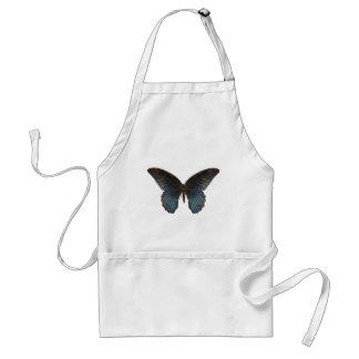 BlueSwallowTail fjäril Förkläde