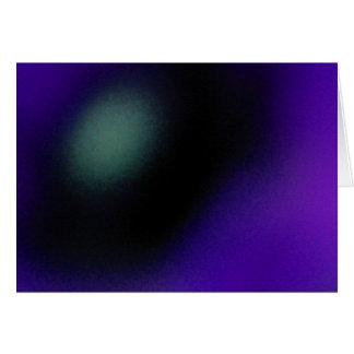 Blur - blått hälsningskort