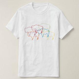 blur för wyoming bisonpride t shirt