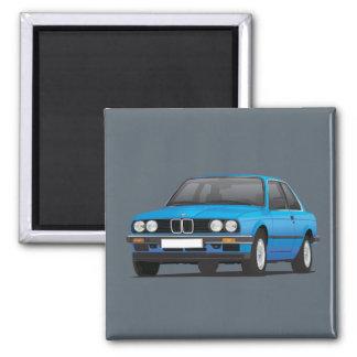 BMW E30 (3-serie) blått Magnet