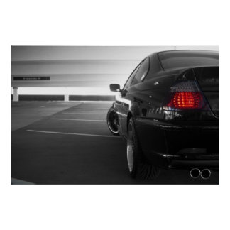 BMW E46 POSTER