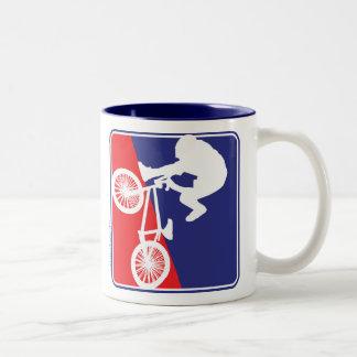 BMX-cykelryttare Två-Tonad Mugg