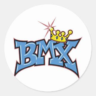 BMX RUNT KLISTERMÄRKE