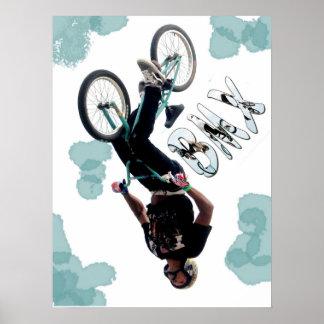 BMX-stänk, tar copyrightt på Karen J Williams Poster