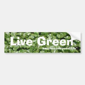 Bo den gröna bildekalet bildekal