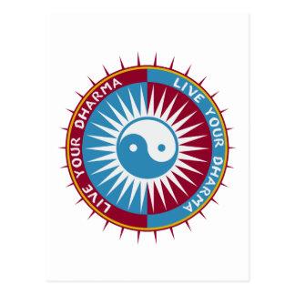 Bo din Dharma Vykort