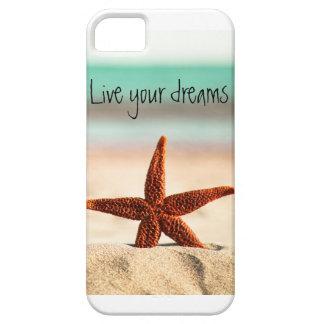 Bo dina drömmar i sommaren barely there iPhone 5 fodral
