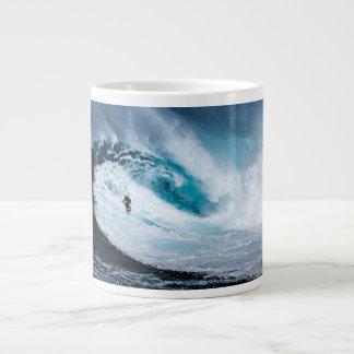 Bo för att surfa - surfa för att bo surfa jumbo mugg