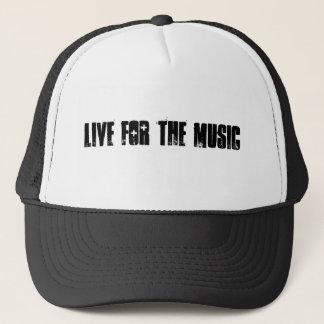 Bo för musikhatten truckerkeps