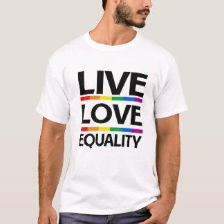 Bo kärlekjämställdhet t-shirt