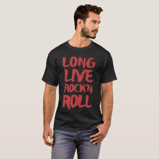 Bo Long sten - och - rulle T Shirt