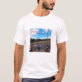 Bo på läge - musikband för Stoney bäckblågräs Tee Shirt