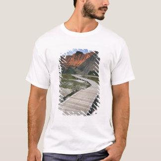 Boardwalk i Waterton glaciärinternationell T Shirt