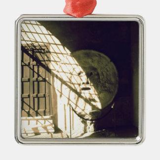 Bocca della Verita (munnen av sanning) Julgransprydnad Metall