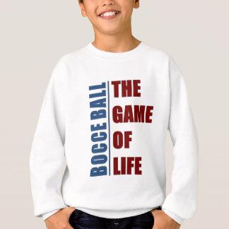 Bocce boll leken av liv t-shirts