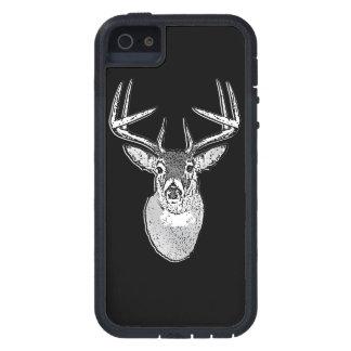 Bock på svart vitsvanhjort iPhone 5 Case-Mate skal