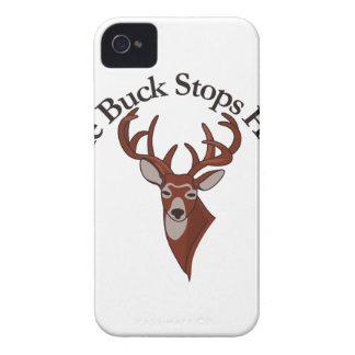 Bocken stoppar här! iPhone 4 skydd