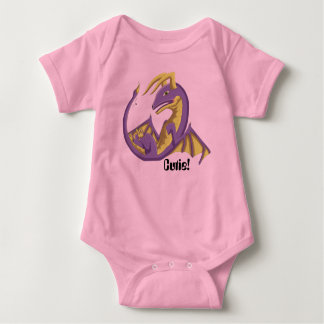 Bodysuit 3 för Cutie babydrake Tshirts