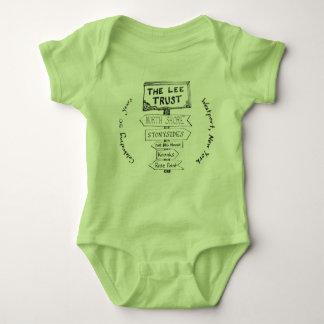 Bodysuit för baby för årsdag för Lee förtroende T-shirts