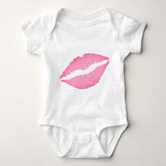 Bodysuit för kysstryckbaby tee shirt