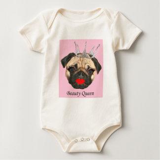 Bodysuit för skönhetdrottningbaby bodies för bebisar