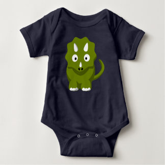 Bodysuit för TriceratopsDino baby T Shirt