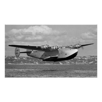 "Boeing 314 Clipper 16"" x28 "", Poster"