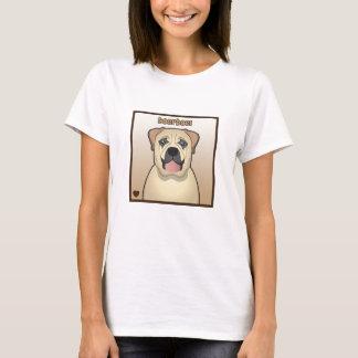 Boerboel tecknad t shirts
