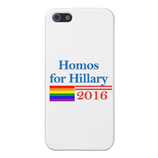 Bögar för Hillary Clinton iPhone 5 Skydd