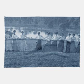 Bogserbåt-NOLLA-Krig för 1890'skvinnadragkamp Kökshandduk