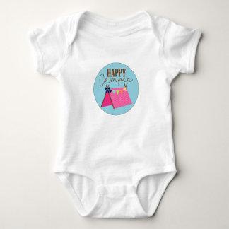 Bohemisk babyBodysuit för lycklig campare T-shirt