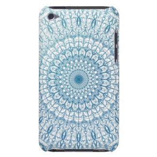Bohemisk design för himmel- och turkosblåttFractal Barely There iPod Skyddande Skydd