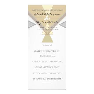 Bohemisk stam- pastell | gifta sig Rackcard Reklamkort 10 X 23 Cm