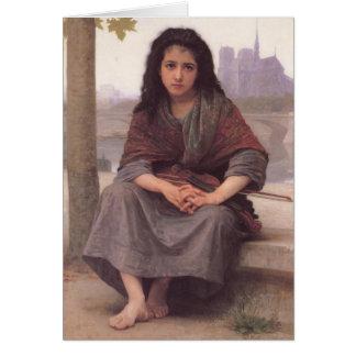 Bohemmet - William-Adolphe Bouguereau Hälsningskort