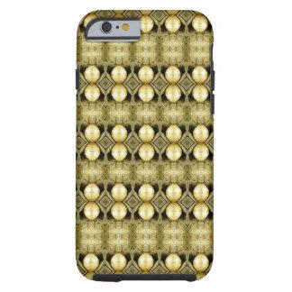 Boho myntar den gula guld- zigenaren bohemiskt tough iPhone 6 fodral