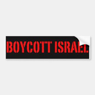 Bojkott Israel - bildekal