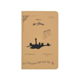 Bok av graven anteckningsbok