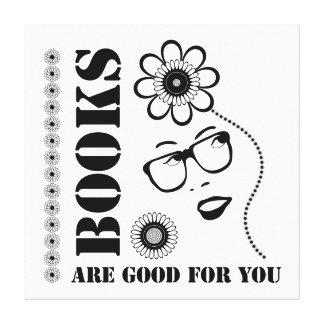 Bokar är bra för dig canvastryck