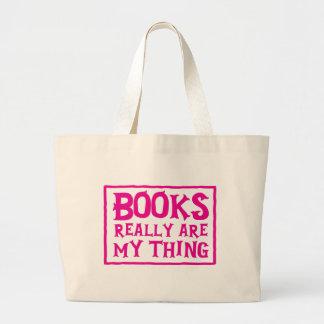 bokar är egentligen min sak jumbo tygkasse