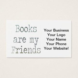 Bokar är min vänner visitkort