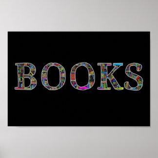 Bokar: en design för bokälskare poster