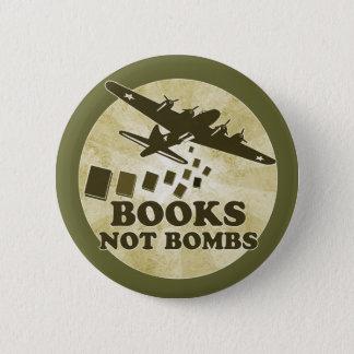 Bokar inte bombarderar standard knapp rund 5.7 cm
