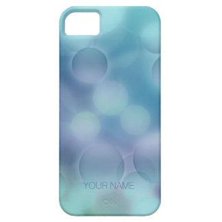Bokeh för blått för aqua för fodral för iPhone 5 Case-Mate fodral